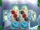 Jewel Match Solitaire: Atlantis challenging level