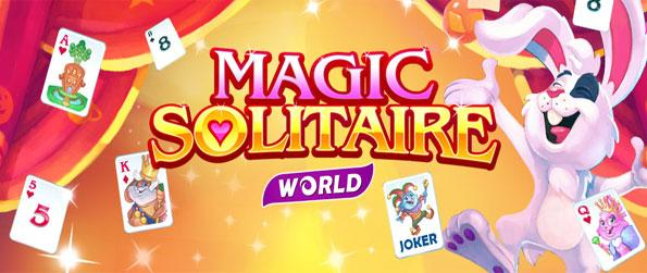 Magic Solitaire World - Play Pyramid Solitaire as you help this awesome bunny become a magician.