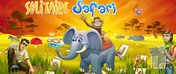 Solitaire Safari - Explore the African plains in a brilliant new solitaire game free on Facebook.
