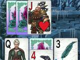 The Far Kingdoms: Winter Solitaire Gameplay