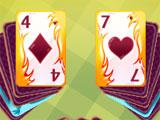Tasty Solitaire Fire Cards