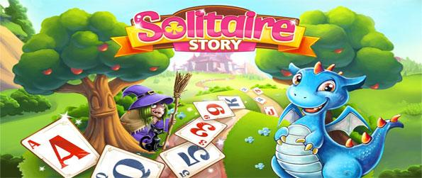Solitaire Story - Enjoy a brilliant and colorful solitare journey with Dex the Dragon to help you along too.