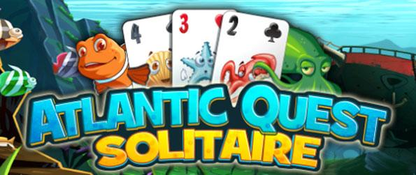 Atlantic Quest Solitaire - Enjoy an undersea adventure as you play brilliant solitaire action.