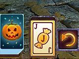 Joker Card in Solitaire Game: Halloween