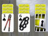 Crime Solitaire Locked Cards