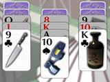Gameplay for Crime Solitaire