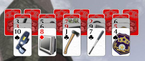 Crime Solitaire - Catch the criminals in a fun solitaire game where you collect clues to find the guilty party