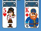 Pirate Themed Cards in Pirate Solitaire