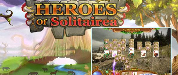 Heroes of Solitairea - Save the land from an evil witch in a stunning solitaire game.
