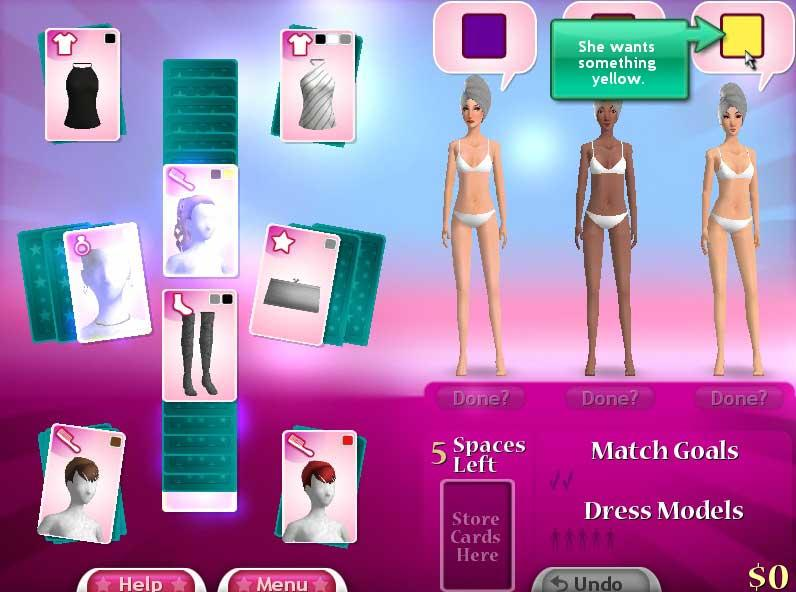 Fashion Solitaire 2 - Free Online Games and Free Card Board 61