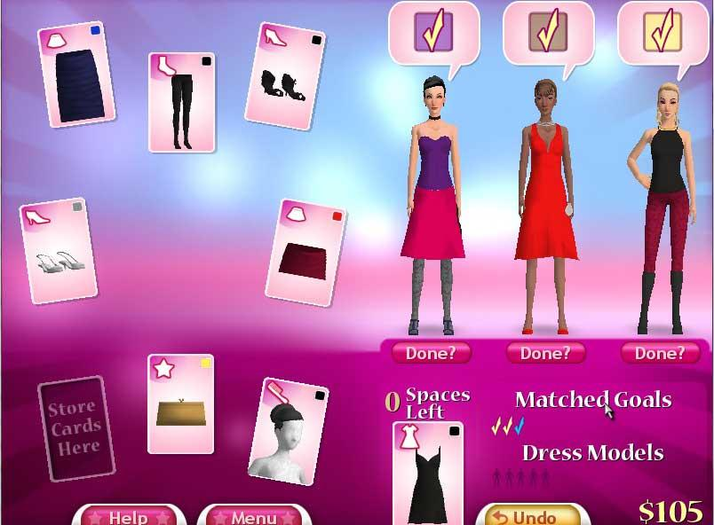 Fashion Solitaire 2 - Free Online Games and Free Card Board 32
