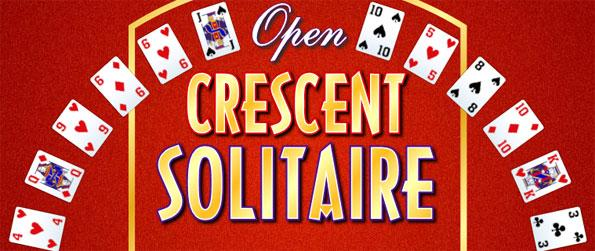 Open Crescent Solitaire - Enjoy this fun and unique solitaire experience that's certain to impress.