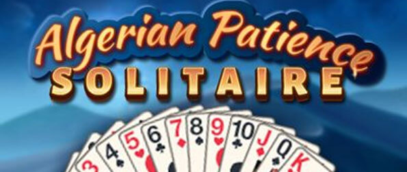 Algerian Patience Solitaire - Play this unique twist on the traditional Klondike style of solitaire.