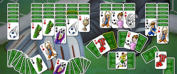 Soccer Cup Solitaire - Explore a unique combination of soccer with solitaire.