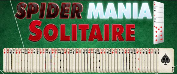 SpiderMania Solitaire - Hone your aptitude to solve insanely difficult solitaire puzzle challenges as you scour for simple card sequences in this Spider Solitaire version of the game.