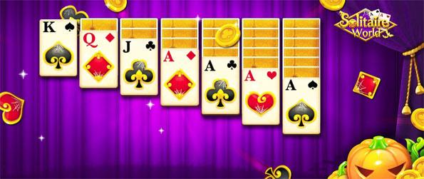Solitaire World - Enjoy this fun filled solitaire game that takes players back to the roots of the genre.