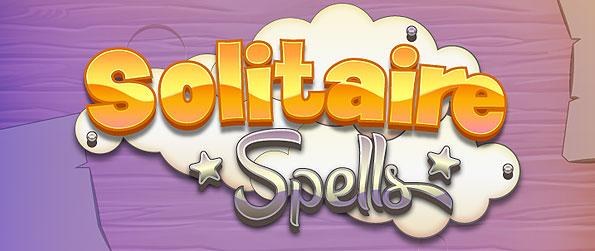 Solitaire Spell - Solitaire Spells plays out much like the golf solitaire version of the game - with a few creative tweaks to make it play a ticklish-ly whole lot more interesting.
