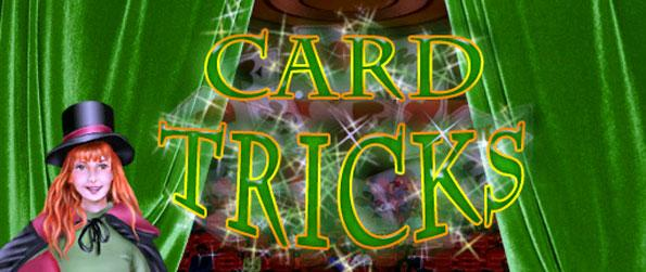 Card Tricks - Find pairs of cards as quick as you can before they reach the left part of the screen.
