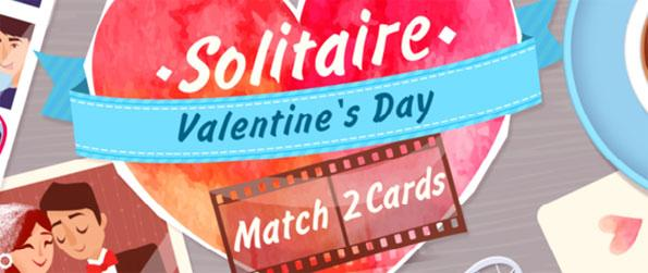 Solitaire Match 2 Cards Valentine's Day - Play a unique and romantic form of Solitaire.