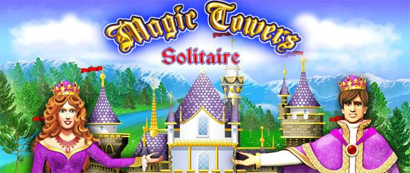 Magic Towers Solitaire  - Crazy for Solitaire? Then you'll love Magic Towers Solitaire! This addicting card game is another great release by Glowing Eye Games and brings magic to your regular game of solitaire.