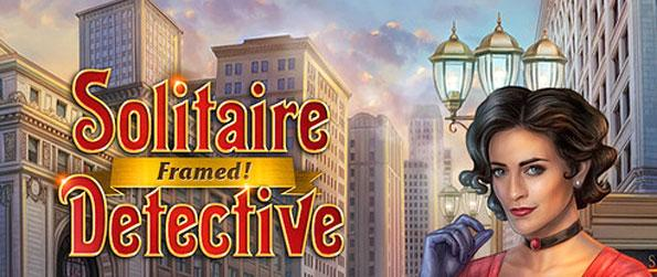 Solitaire Detective: Framed - Enjoy this top notch solitaire game that's sure to impress.