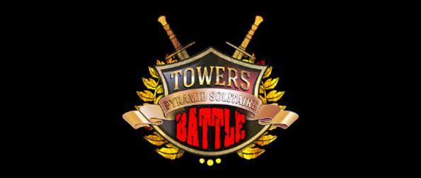 Towers Battle Pyramid Solitaire - Test your own skill against the Skill Levels.