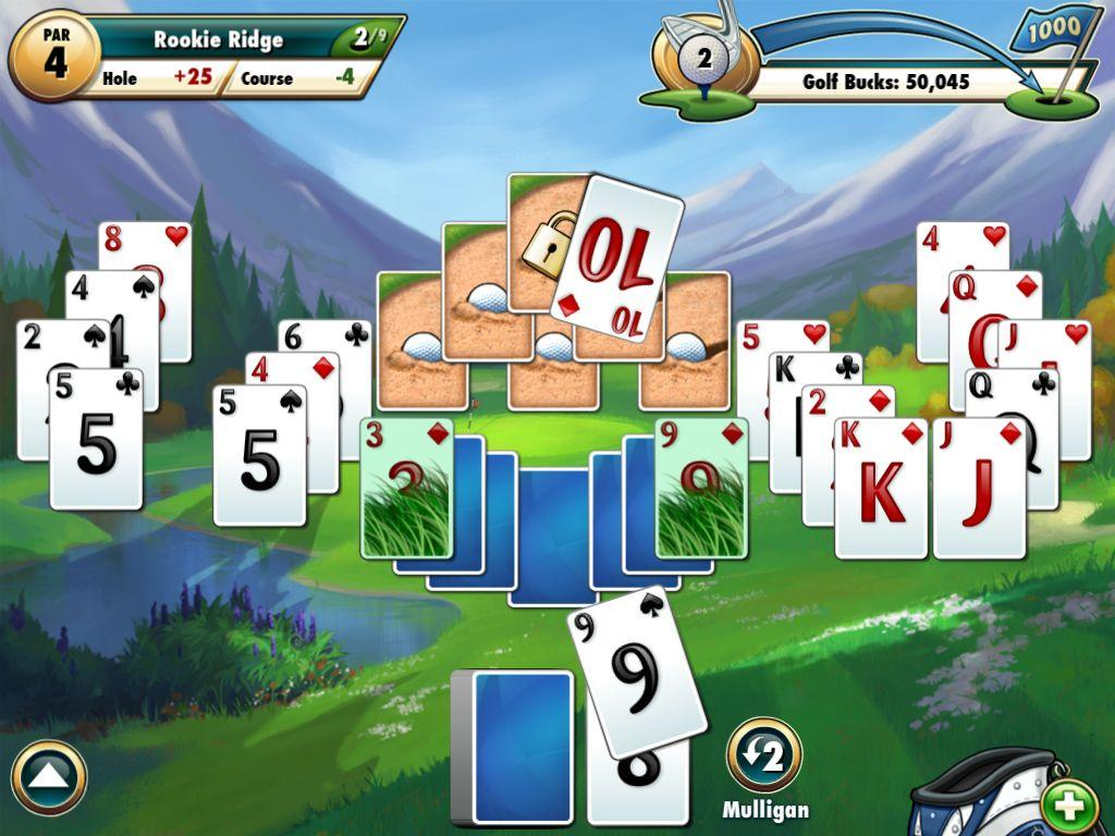 Fairway Solitaire Online Spielen