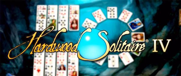 Hardwood Solitaire IV - Arrange the deck cards in a particular fashion in an addicting game of Solitaire.