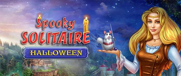 Spooky Solitaire Halloween - Follow the story of Princess Maria as she seeks to help out her prince Jack.