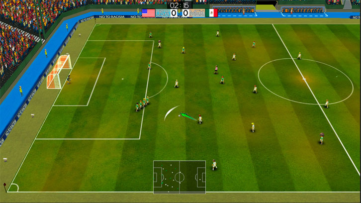 Score Goals and Win Tournaments in Super Arcade Soccer