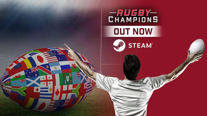 Rugby Champions tackles its way onto PC in time for the World Cup