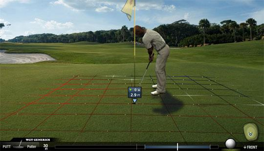 The Putting Green in World Golf Tour