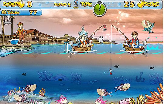 Attack of the Fishes in Fishing Craze