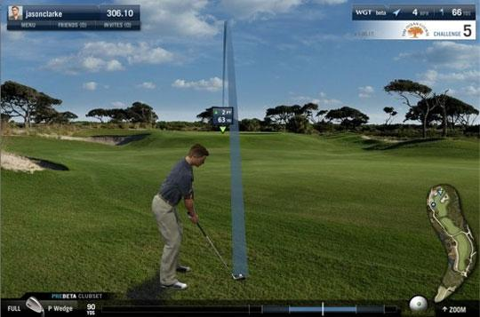 Amazing Course in World Golf Tour