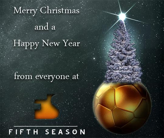 Christmas greeting from Fifth Season