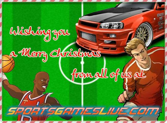 Merry Christmas and a Happy New Year from SportsGamesLive