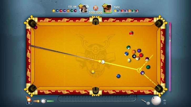 Fun game of pool