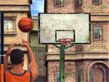 Basketball Stars shooting hoops