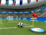 Ball 3D: Soccer Online taking a corner kick