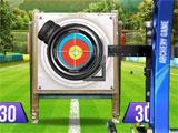 Archery King taking aim