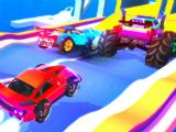 Stock cars and monster trucks in SUP Multiplayer Racing