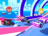 Flags and emojis in SUP Multiplayer Racing