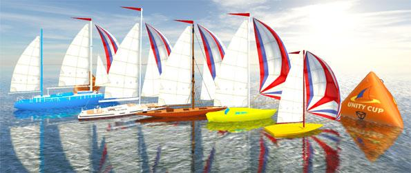 Sailing Race Pro - Control your very own sailboat in a race.