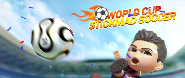 World Cup - Stickman Football - Dominate your opponents in this captivating football game that doesn't disappoint.