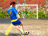 Shooting A Goal in SkillTwins Football Game 2