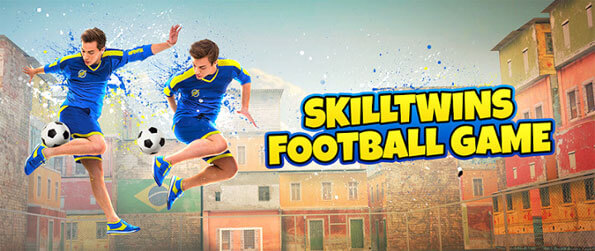 SkillTwins Football Game 2 - Execute jaw dropping football skills in SkillTwins Football Game 2.