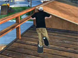 Executing Tricks in Skateboard Party 3