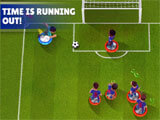 Tackling in Kings of Soccer