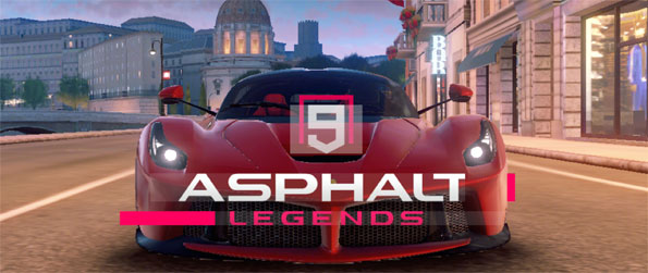 Asphalt 9: Legends - Win the race in style with Asphalt 9.