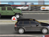 Drag Racing 4x4 intense race